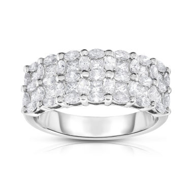 jcpenney.com | Womens 1 1/3 CT. T.W. White Diamond 14K Gold Band