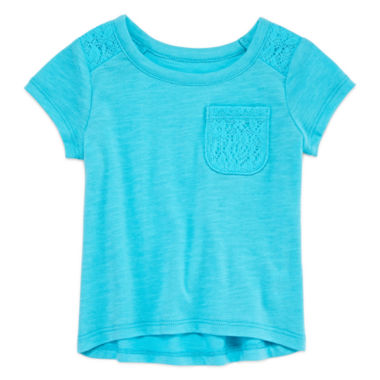 jcpenney.com | Okie Dokie Short Sleeve T-Shirt-Baby Girls