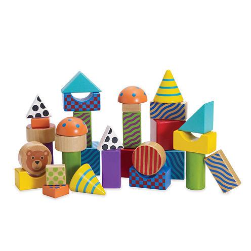 Manhattan Toy Create Play Pattern Blocks