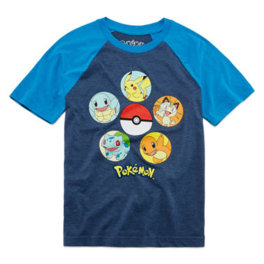 jcpenney.com | Pokemon Boys Short Sleeve Pokemon T-Shirt-Big Kid