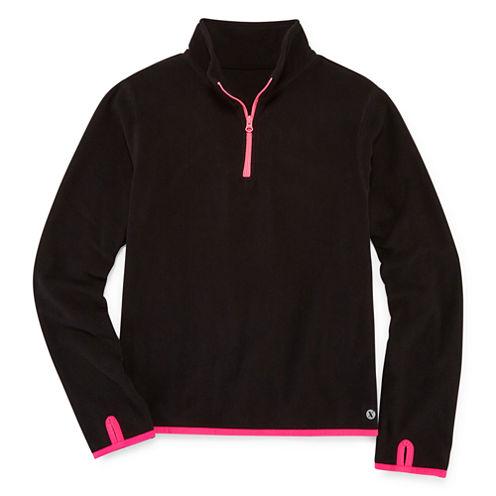 Xersion Half-Zip Fleece Pullover - Girls' 7-16 and Plus