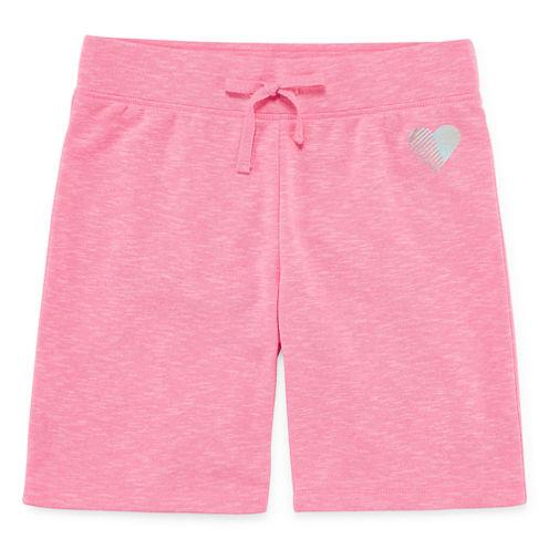 Xersion French Terry Bermuda Shorts - Big Kid Girls