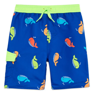 jcpenney.com | Arizona Boys Whales Swim Trunks-Toddler