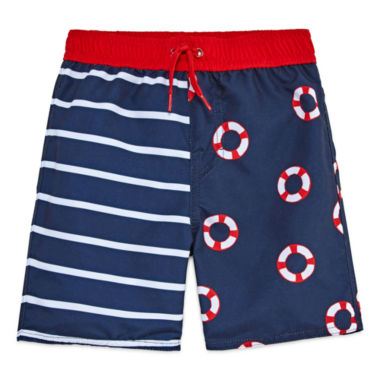 jcpenney.com | Arizona Boys Stripe Trunks-Toddler
