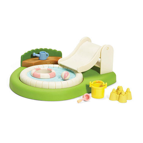 Calico Critters of Cloverleaf Corners Baby Pool and Sandbox