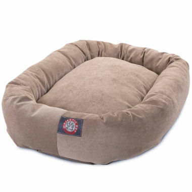 jcpenney.com | Majestic Pet Villa Collection Micro-Velvet Bagel Dog Bed