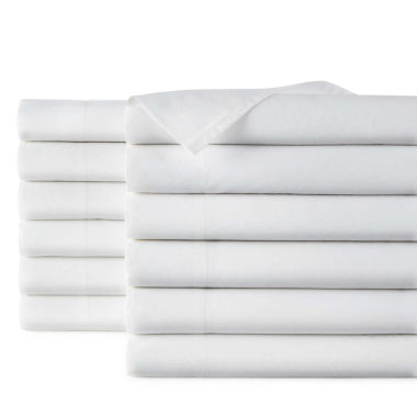 jcpenney.com | JCPenney Home™  300tc Set of 24 Standard/Queen Pillowcases