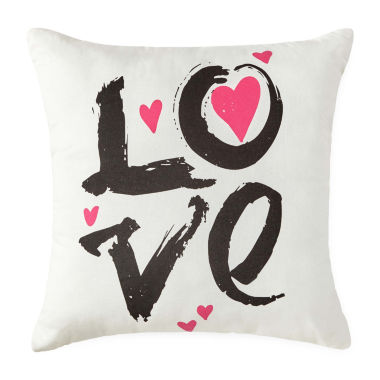jcpenney.com | JCPenney Home™ Love Square Decorative Pillow