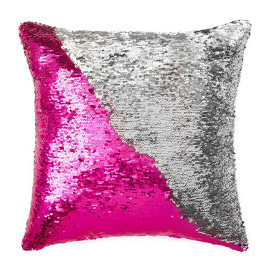 jcpenney.com | JCPenney Home™ Mermaid Square Sequins Decorative Pillow