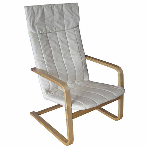Aquios Bentwood High Back Armchair