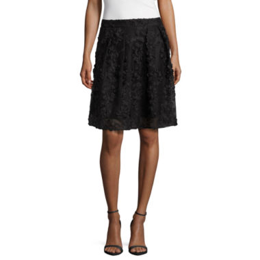 jcpenney.com | Worthington Solid Woven Pleated Skirt