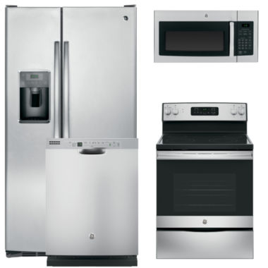 jcpenney.com | GE® 4-pc. Electric Kitchen Package