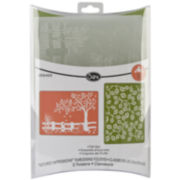 Sizzix® Textured Impressions™ 2-pk. Embossing Folders, Fall Set