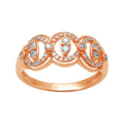 ⅓ CT. T.W. 10K Rose Gold Diamond Ring