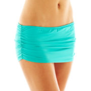 jcp™ Solid Skirted Swim Bottoms