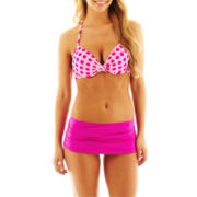 jcp™ Print Pushup Bra Swim Top or Solid Bottoms