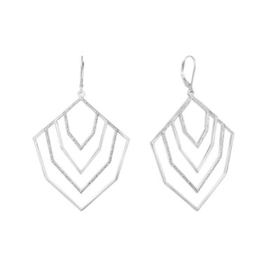 jcpenney.com | Diamond Addiction 1/10 CT. T.W. Diamond Drop Earrings