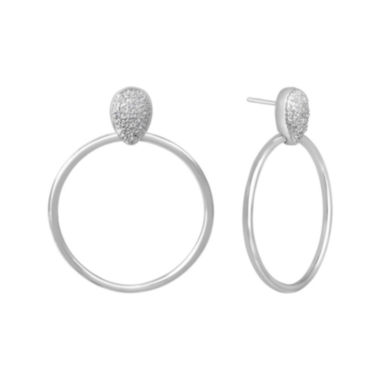 jcpenney.com | Diamond Addiction 1/10 CT. T.W. Diamond Door Knocker Earrings