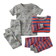 Carter's® 4-pc. Fire Truck Pajama Set - Boys 12m-24m