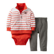 Carter's® 3-pc. Shark Jacket Set- Boys newborn-24m