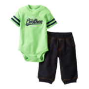Carter's® Little Brother Bodysuit Pant Set - Boys newborn-24m