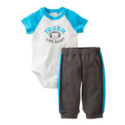 Carter's® Football Bodysuit Pant Set - Boys newborn-24m