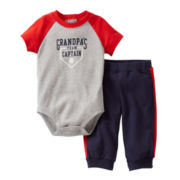 Carter's® Baseball Bodysuit Pant Set - Boys newborn-24m