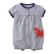 Carter's® Crab Creeper - Girls newborn-24m