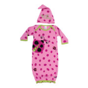 Sozo® Snug as a Bug Gown and Cap Set