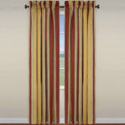 Waverly® Capulet Stripe Rod-Pocket Curtain Panel
