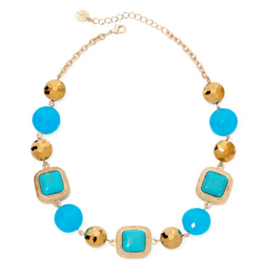 jcpenney.com | Monet® Gold–Tone Multi-Beaded Collar Necklace