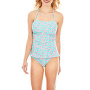 Arizona Corsetkini Swim Top or Hipster Bottoms - Juniors