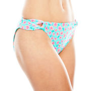 Arizona Floral Print Hipster Swim Bottoms - Juniors