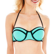 L'Amour by Nanette Lepore Underwire Bandeau Swim Top - Juniors