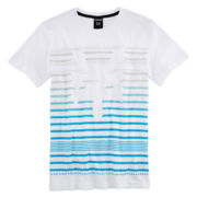 Zoo York® Short-Sleeve Knit Striped Tee – Boys 8-20