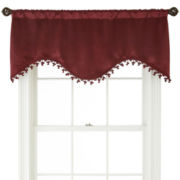 Royal Velvet® Jessa Rod-Pocket Scalloped Valance