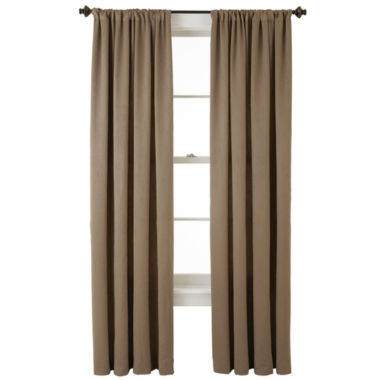 jcpenney.com | Home Expressions™ Cassidy Room-Darkening Rod-Pocket Curtain Panel