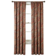 Home Expressions™ Wynnewood Room-Darkening Rod-Pocket Crushed Curtain Panel