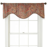 Home Expressions™ Wynnewood Scalloped Crushed Valance