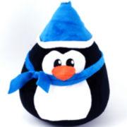 Penguin Kiss Decorative Pillow