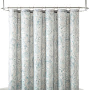 Liz Claiborne® Amhurst Paisley Shower Curtain