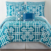 Happy Chic by Jonathan Adler Samantha 3-pc. Reversible Comforter Set