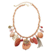 Aris by Treska Shakey Statement Bib Necklace