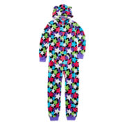 Sleep On It Zip-Front Hooded Sleeper - Girls 7-16