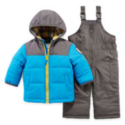 Carter's® 2-pc. Snowsuit Set - Baby Boys 12m-24m