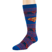 DC Comics® Superman Men's Sweater Socks