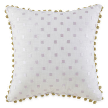 jcpenney.com | JCPenney Home™ Watercolor Square Decorative Pillow