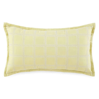 jcpenney.com | JCPenney Home™ Watercolor Oblong Decorative Pillow