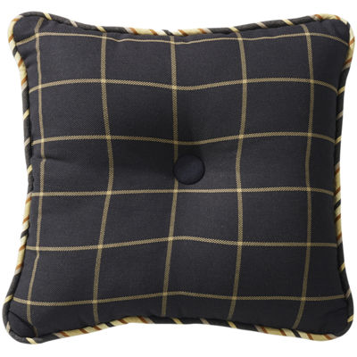 HiEnd Accents Ashbury Plaid Decorative Pillow