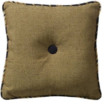 HiEnd Accents Ashbury Square Decorative Pillow